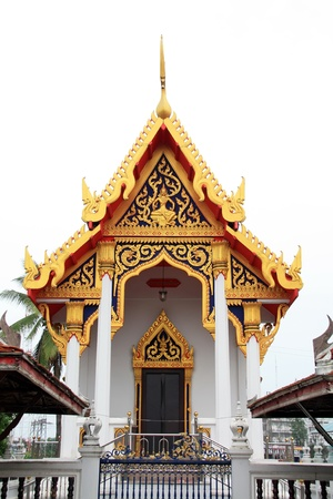 thai painting: temple in thailand