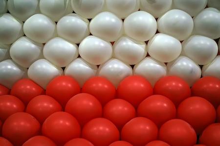 Balloons row photo