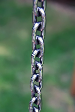 Chain for hanging objects photo