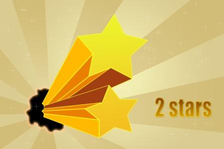 Five stars ratings Stock Photo - 10814573