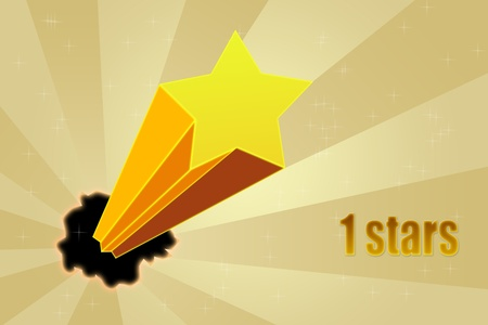 Five stars ratings Stock Photo - 10814572