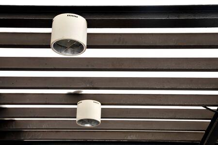lighting fixtures: Hanging lighting fixtures Stock Photo