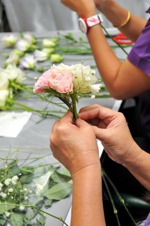 Fleur à la main Organisation A l'école