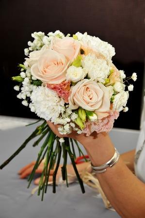 Hand Arranging Flower At school Stock Photo - 13749041