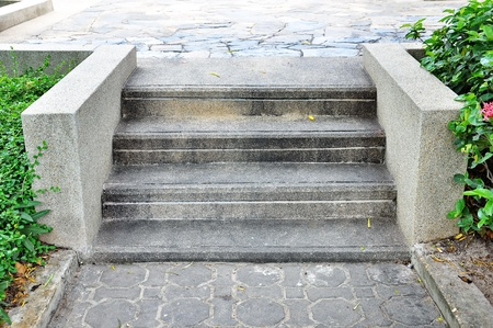 Stone stairs photo