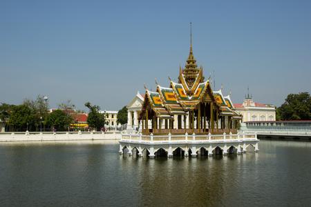 bang pa in: Bang Pa-in summer Palace Ayutthaya thailand Editorial