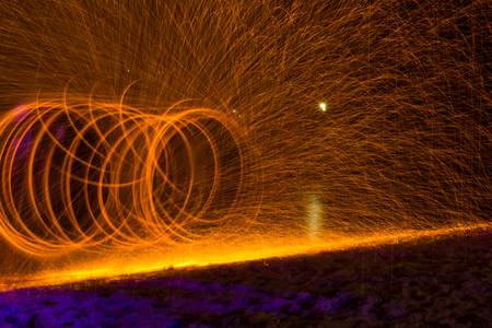samet: swinging Torch samet Islandbeach