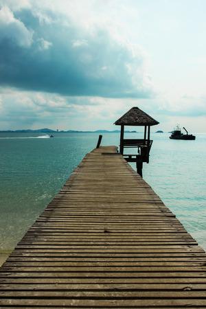 samet: samet Island Wood bridge thailand