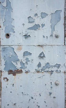 peeling paint: peeling paint metal steel texture Stock Photo