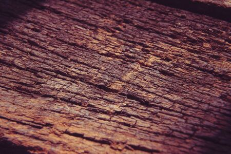 decayed: Old decayed wooden boards floor. background, Macro Stock Photo