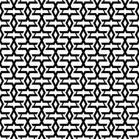 Geometric line elements seamless vector pattern, Background