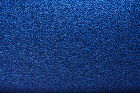 Blue leather texture, Blue leather bag, Blue leather background for design with copy space for text or image.
