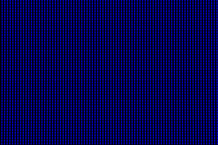 Abstract led screen in blue tone. Led lighting bulb pattern. RGB led diode display panel. Close up LED TV display. Close up of TFT monitor for background and design with copy space for text or image. Stock Photo