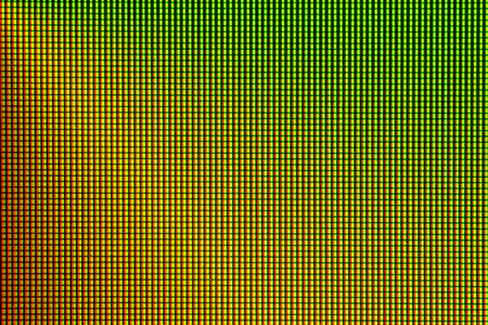 tft: Abstract led screen. Led lighting bulb pattern. RGB led diode display panel. Close up LED TV display. Close up of TFT monitor for background and design with copy space for text or image.