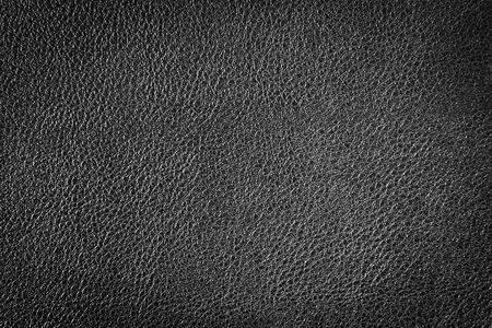 black leather texture: Black leather texture or leather background for design with copy space for text or image. Stock Photo