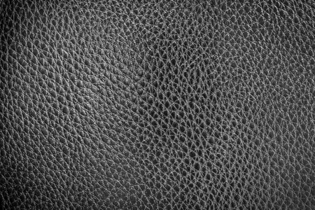 black leather texture: Black leather texture or leather background for design with copy space for text or image. Rough leather fabric.