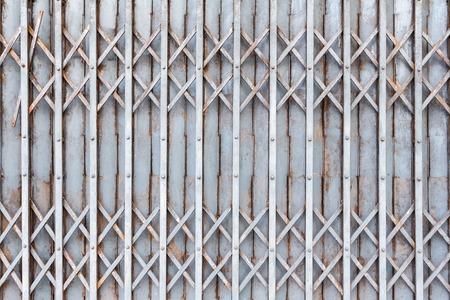 steel door: Old steel door texture pattern or steel door background with rusty metal. Grunge retro vintage of steel door for design.