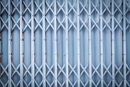 steel door: Old steel door texture pattern or steel door background with rusty metal. Grunge retro vintage of steel door for design. Dark edged.
