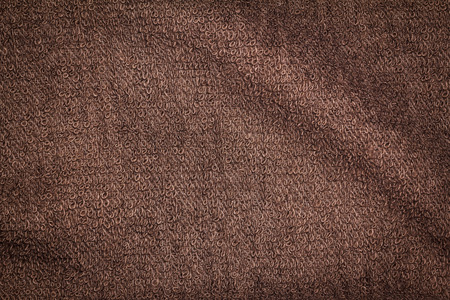 Towel texture or towel background for design with copy space for text or image. 免版税图像