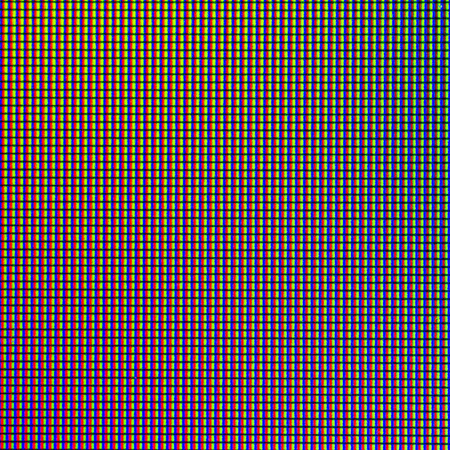 Closeup LED diode from LED TV or LED Monitor screen display panel for background and design with copy space for text or image. Imagens