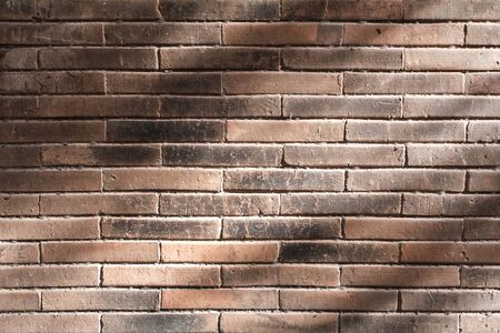 rough: Brick wall texture pattern or brick wall background for interior or exterior design with copy space for text or image.