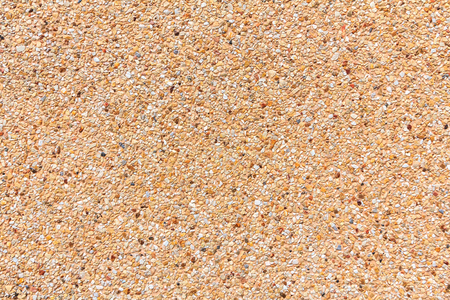 Small sand stone pebbles texture, Small sand stone pebbles background for design with copy space for text or image. Stock Photo