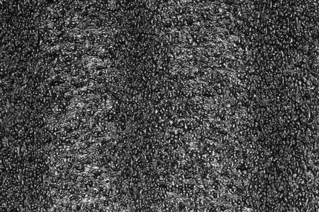 Black plastic foam texture, Foam rubber texture for background. Foam background for design with copy space for text or image. Stock Photo