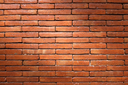 Brick wall texture, brick wall background for interior or exterior design with copy space for text or image. Stock Photo