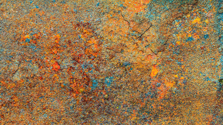 Rusty metal texture, rusty metal background for design. Rusty metal is caused by moisture in the air. Stock Photo