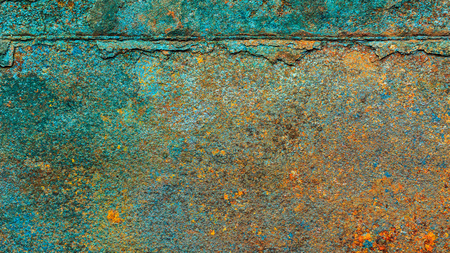 aluminum: Rusty metal texture, rusty metal background for design. Rusty metal is caused by moisture in the air. Stock Photo