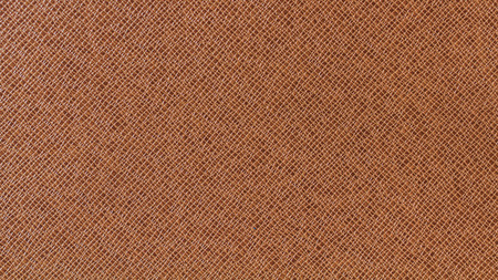 Brown leather texture background for fashion, furniture or interior concept design.