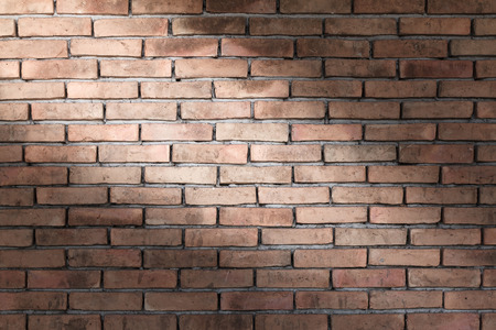 Brick wall texture background for interior, exterior or industrial construction concept design. Stock Photo