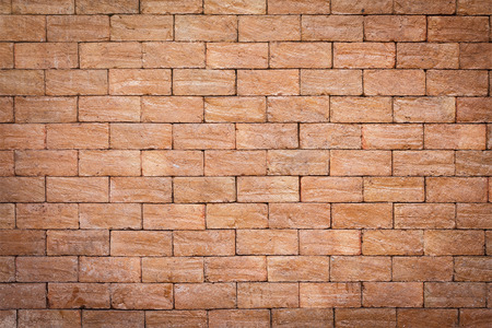 garage on house: Brick wall texture background for interior, exterior or industrial construction concept design. Stock Photo