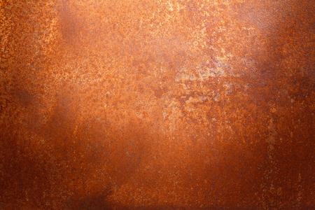Rusty metal texture background for interior, exterior or industrial construction concept design. Stock Photo