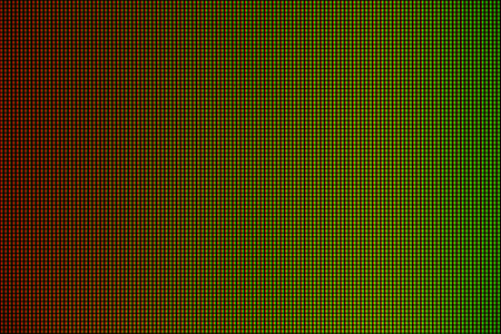 LED lights from computer LED monitor screen display panel for graphic website template. electricity or technology concept design.