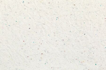White crumpled recycled paper texture background for business communication and education design.