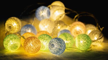 Decorative LED lights for party, Christmas xmas, Happy new year, festive, event, happy birthday, celebration, congratulations design.