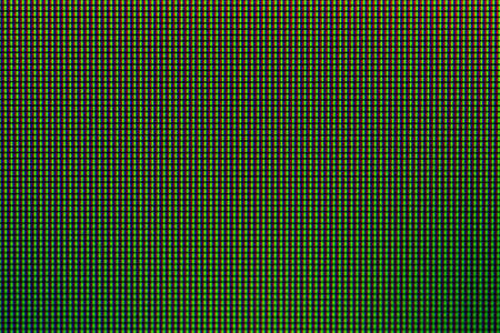 Closeup RGB led diode of LED TV and LED monitor screen display panel.