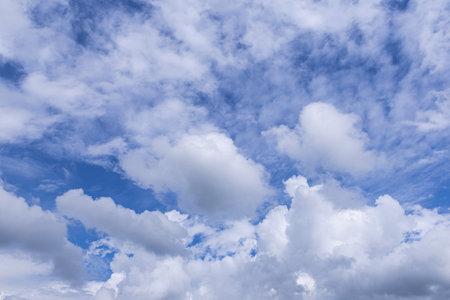 Blue sky background with clouds Stok Fotoğraf