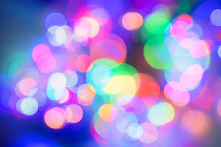 Abstract background with bokeh defocused light Stok Fotoğraf - 164292606