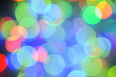 Abstract background with bokeh defocused light