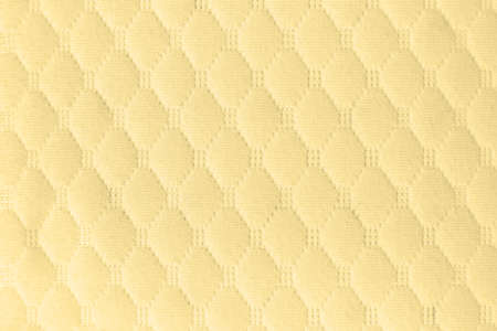 Yellow fabric cloth background texture for design Stok Fotoğraf