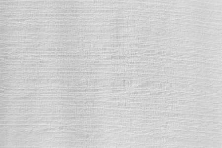 White fabric cloth background texture for design Stok Fotoğraf