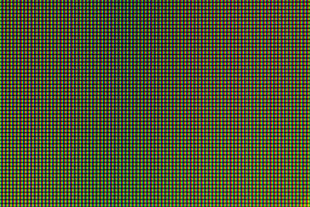 Closeup LED diode from LED TV or LED monitor computer screen display panel
