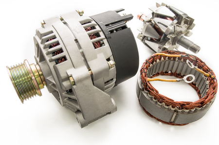 Alternator for the car and spare parts for it