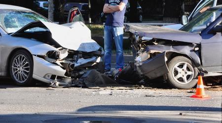 coche: Accidente de coche