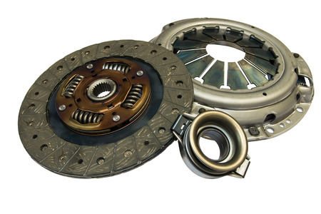 Clutch kit car on a white background photo