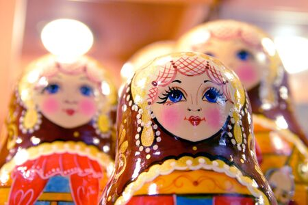matroshka: A painted wooden Russian national doll, Matrioshka