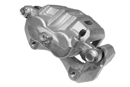 brake caliper: New Brake Caliper on a white background Stock Photo