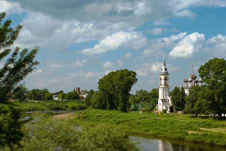 made russia: View of the Church in the city of Vologda